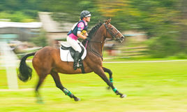 International Horse trial at Burgie Stock Images