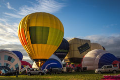 International Hot Air Balloon Fiesta in bristol Stock Images