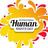 International Human Rights Day. Stock Image