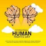 International Human Rights Day. Stock Images