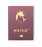 International identification document for travel Stock Image
