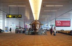 international indira gandhi авиапорта delhi Стоковые Фотографии RF