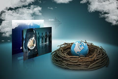 International investments and global finance Royalty Free Stock Photography