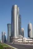 International Islamic Tower in Doha, Qatar Stock Image