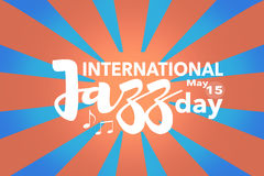 International Jazz day Royalty Free Stock Images