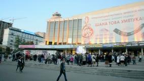 International Jewish music and dance festival,Kiev, Ukraine, stock footage