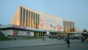 International Jewish music and dance festival,Kiev, Ukraine, stock video footage