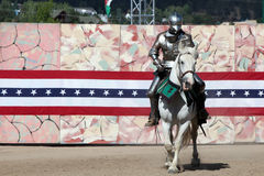 International Jousting Competition Royalty Free Stock Image
