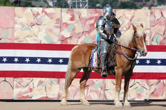 International Jousting Competition. The annual Longs Peak Scottish Irish Highlands Festival is a popular event in Estes Park, Colorado, USA. It attracts Royalty Free Stock Photos