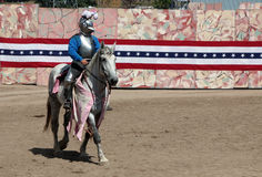 International Jousting Competition Royalty Free Stock Images