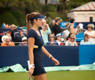 International Julia Goergess im Jahre 2014 Aegon (Eastbourne-Tennis Turnier) Lizenzfreie Stockfotos