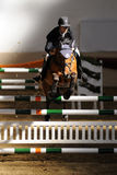 International Jumping Competition Stock Image