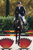 International Jumping Competition Riders Stock Images