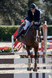 International Jumping Competition Riders Royalty Free Stock Image