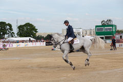 International Jumping Competition. Royalty Free Stock Images