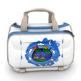 International Kids bag Royalty Free Stock Photography