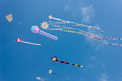 International kite festival Royalty Free Stock Photos