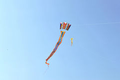 International Kite Festival at Ahmedabad Stock Photos