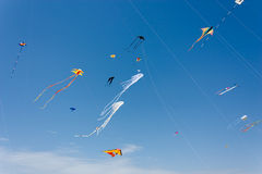 International kite festival of Cervia Royalty Free Stock Image
