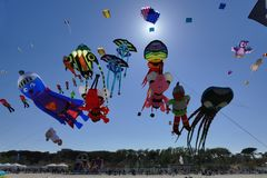 International Kite Festival 2017 - The Kite Show Royalty Free Stock Images
