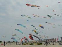 International Kite Festival 2015 Royalty Free Stock Photography