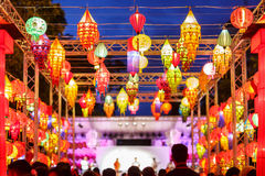 International lanterns Stock Photography