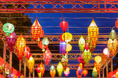 International lanterns Royalty Free Stock Photo