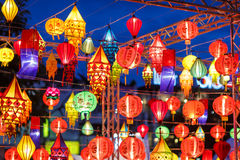 International lanterns Royalty Free Stock Images