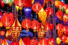 International lanterns Stock Images