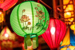 International lanterns Royalty Free Stock Photography