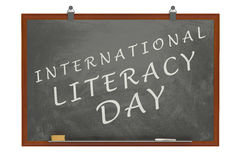 International Literacy Day concept Stock Image