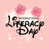 International Literacy Day. Royalty Free Stock Image
