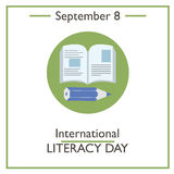 International Literacy Day, September 8 Stock Photography