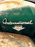 International. Loadstar 1800 old truck royalty free stock photos