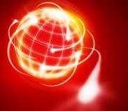 International logistics. Worldwide logistics circling the world Stock Photo