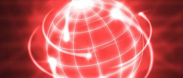 International logistics. Worldwide logistics circling the world