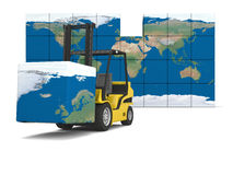 International logistics Stock Images