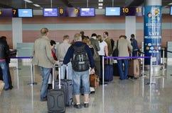 international lviv авиапорта Стоковые Изображения RF