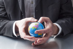 International management with environmental concerns Stock Photography
