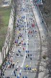 International Marathon in Kharkov, Ukraine, April 9, 2016 Stock Image