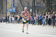 International Marathon in Kharkov, Ukraine, April 9, 2016 Stock Images