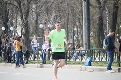 International Marathon in Kharkov, Ukraine, April 9, 2016 Stock Photography