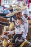 International Mariachi & Charros festival. GUADALAJARA , MEXICO - SEP 01 : Charro participates at the 23rd International Mariachi & Charros festival in stock photos
