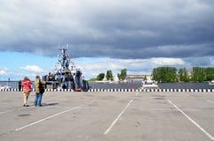 International Maritime Defence Show 2015 (IMDS-2015) Stock Photography