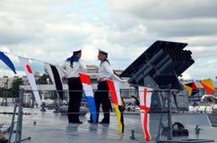 International Maritime Defence Show 2015 (IMDS-2015) Stock Image