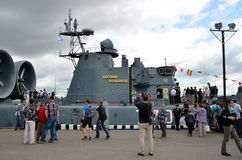 International Maritime Defence Show 2015 (IMDS-2015) Royalty Free Stock Photo