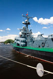 International Maritime Defence Show in St. Petersb Royalty Free Stock Images