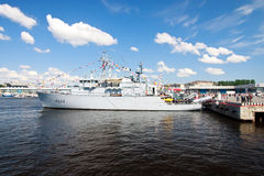 International Maritime Defence Show in St. Petersb Stock Photos