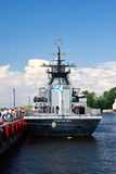 International Maritime Defence Show in St. Petersb Royalty Free Stock Image