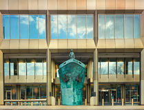 International Maritime Organisation IMO Headquarters, London,. International Memorial to Seafarers,  International Maritime Organisation IMO Headquarters, London Stock Image